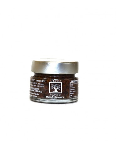 Patè di olive nere gr 125 Agricola Taurino Agricola Taurino 4,50 €