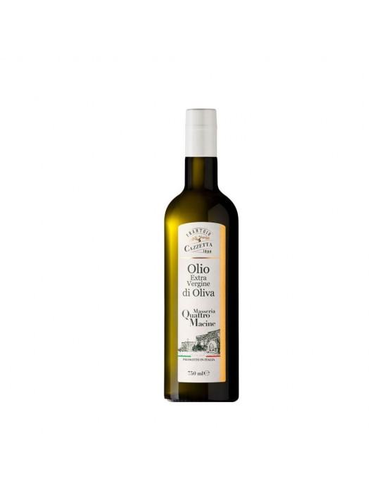 Olio EVO (750 ml) - Masseria Quattromacine - Frantoio Cazzetta   Prodo Frantoio cazzetta 9,20€