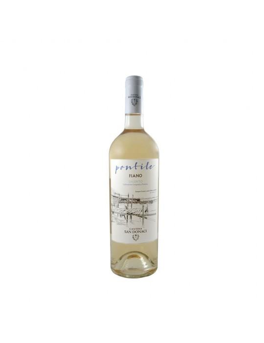 Pontile - Bianco Fiano IGP - Cantina San Donaci   Vino Salentino Cantina San Donaci 5,00€
