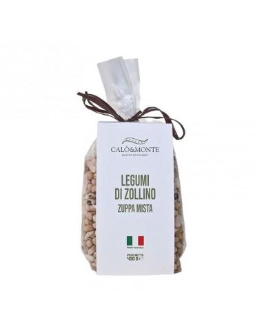 Zuppa mista di Zollino gr. 400 - Calo'&Monte Legumi di Zollino Calo' e Monte Legumi di Zollino 4,00€