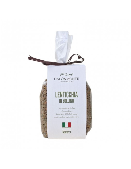 Lenticchia - Calò & Monte Legumi di Zollino | Prodotto Salentino Calo' e Monte Legumi di Zollino 4,00€