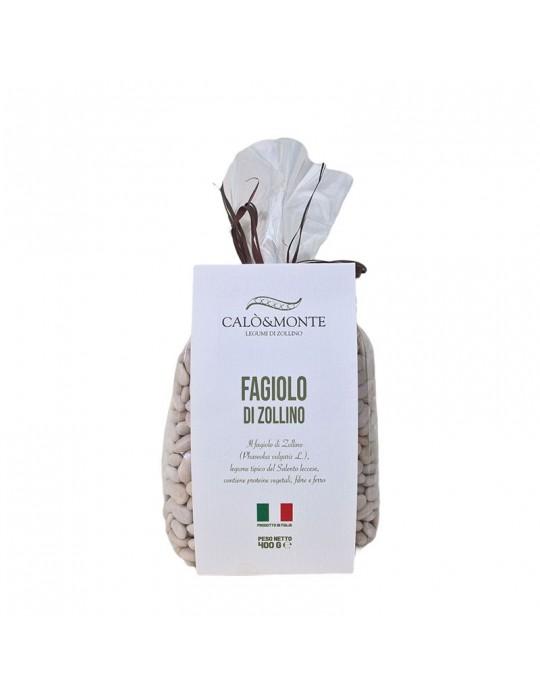 Fagioli di Zollino - Calò & Monte Legumi di Zollino   Prodotto Salentino Calo' e Monte Legumi di Zollino 4,00€