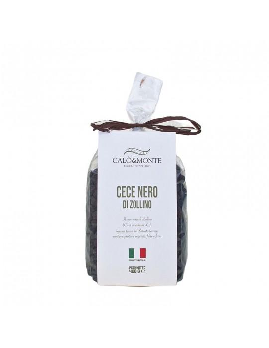 Cece nero - Calò & Monte Legumi di Zollino   Prodotto Salentino Calo' e Monte Legumi di Zollino 4,00€