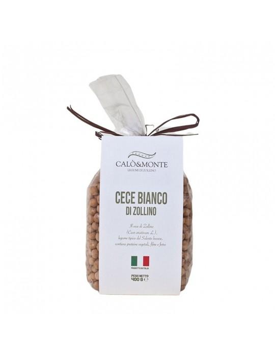 Cece bianco - Calò & Monte Legumi di Zollino   Prodotto Salentino Calo' e Monte Legumi di Zollino 4,00€
