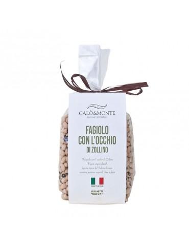 Fagioli con l'occhio di Zollino gr. 400 - Calo'&Monte Legumi di Zollino Calo' e Monte Legumi di Zollino 4,00€