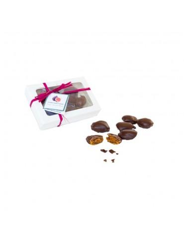 Fichi mandorlati ricoperti al cioccolato fondente gr 200 - Caffè Alvino Caffè Alvino 9,00€