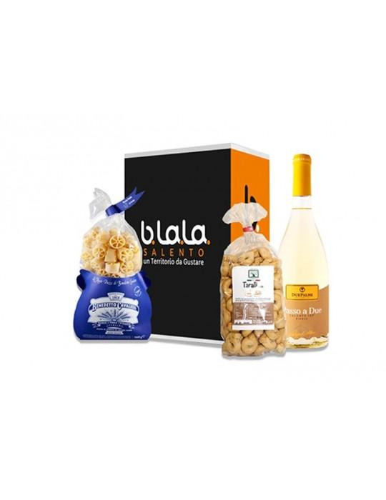 Box Torre di Roca vecchia   Pacco regalo di prodotti Salentini B.La.La. 19,00€