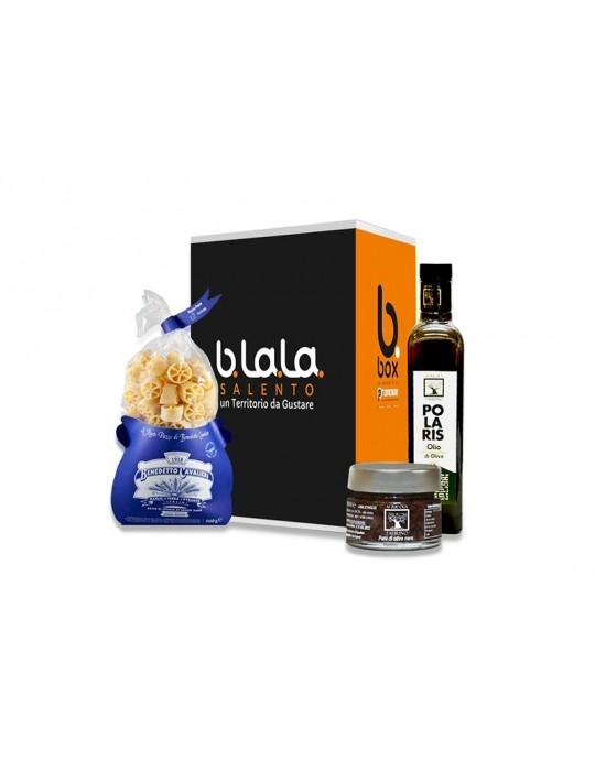 Box Torre Dell'Orte   Confezione di prodotti tipici del Salento B.La.La. 19,00€