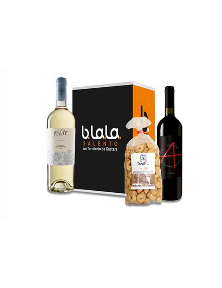 Box Torre Santa Cesarea - Confezione di prodotti tipici del Salento B.La.La. 19,00€