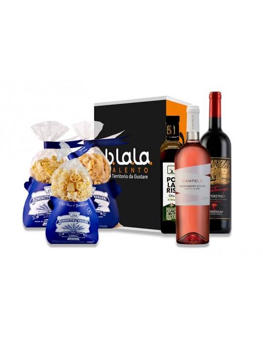 Box Torre Pali   Confezione di prodotti tipici Salentini B.La.La. 31,00€