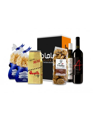 Box Torre del Sasso - Confezione di prodotti tipici del Salento