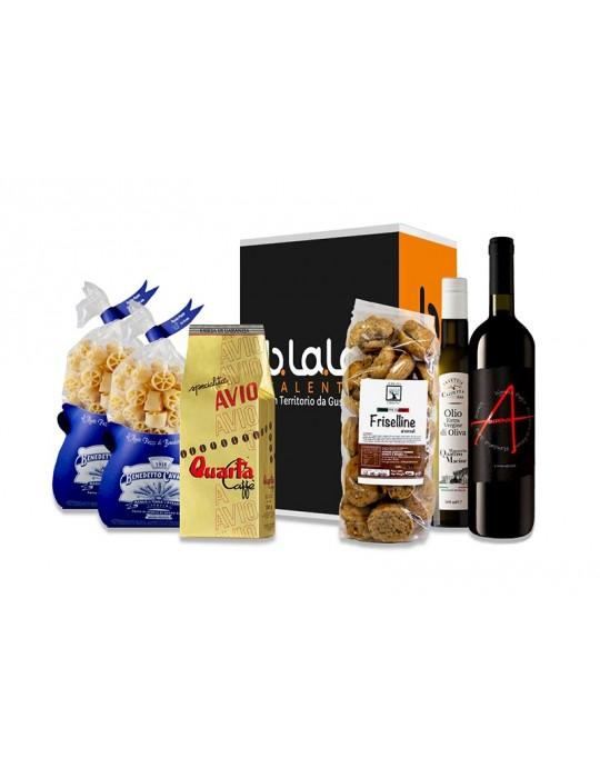 Box Torre del Sasso - Confezione di prodotti tipici del Salento B.La.La. 31,00€