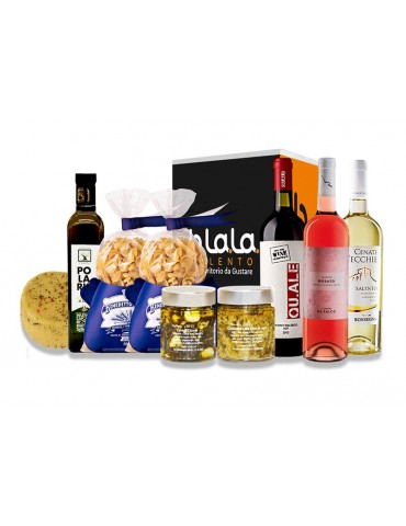 Box Torre Castiglione - Confezione di prodotti tipici del Salento B.La.La. 45,00€