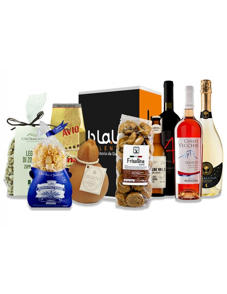 Box Torre Sant'Isidoro - Confezione di prodotti tipici del Salento B.La.La. 45,00€