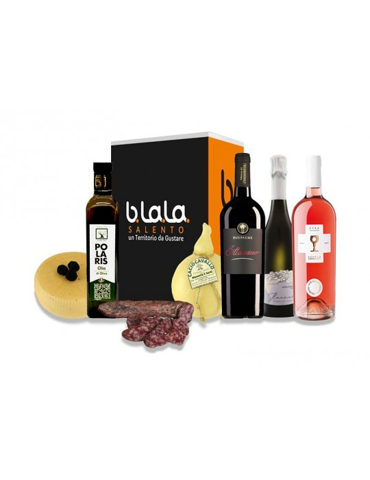 Box Ponente - Confezione di prodotti tipici del Salento B.La.La. 58,00€