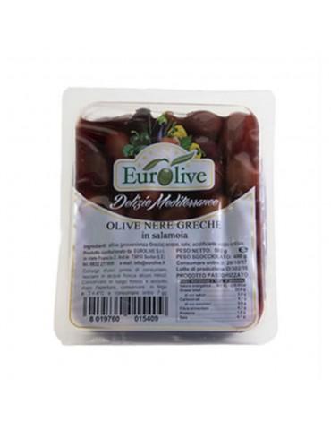 Olive nere greche in salamoia gr 400 -Eurolive Eurolive 3,80€