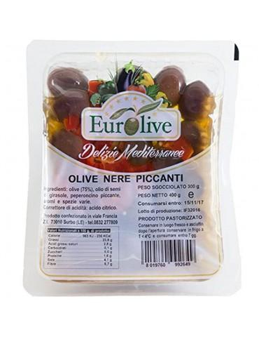 Olive nere piccanti gr 400 - Eurolive Eurolive 3,80€