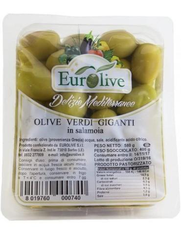 Olive verdi giganti in salamoia - Eurolive