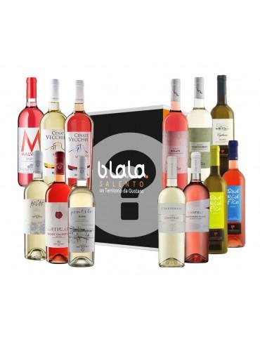B.La.La Box a Sorpresa   Confezione di Vini Rosato e Bianco del Salento