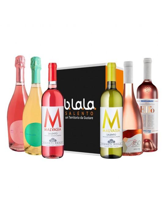 Box Speciale Vini Giugno - confezioni di prodotti tipici del Salento B.La.La. 35,00€