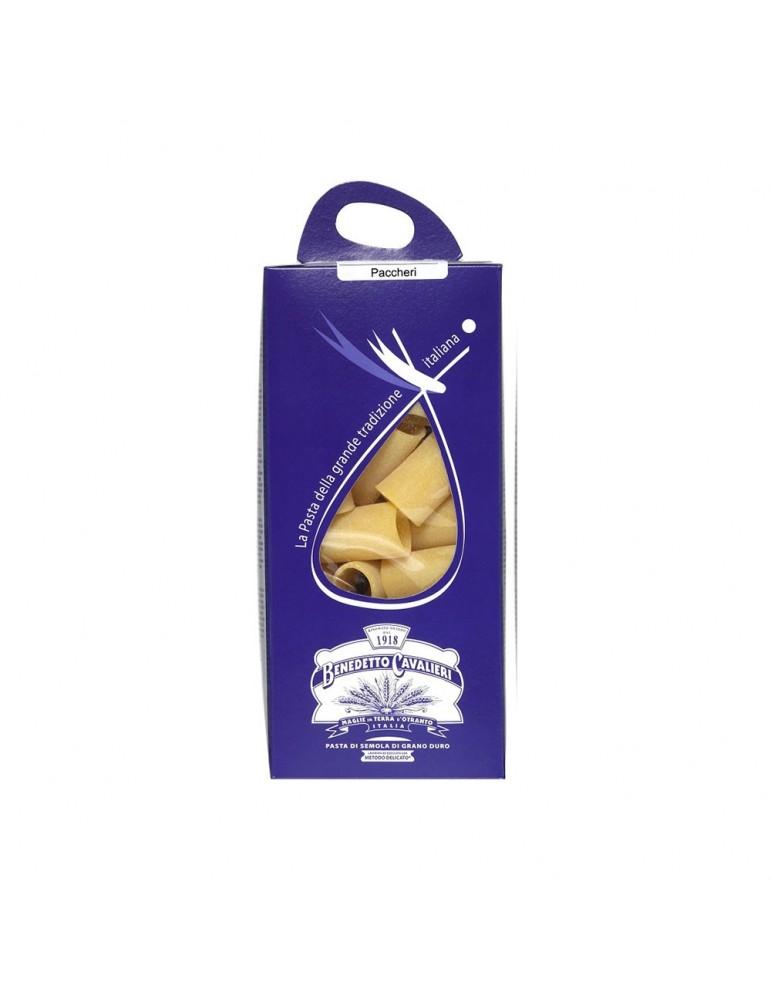 Paccheri - Pastificio Benedetto Cavalieri - Pasta di semola di grano duro Pastificio Benedetto Cavalieri 3,50€