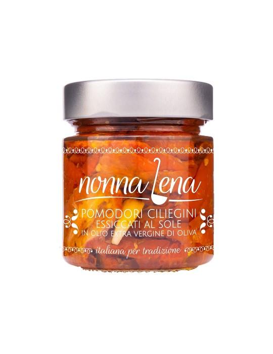 Pomodori ciliegini essiccati al sole - Nonna Lena | Prodotto Salentino Nonna Lena 5,20€