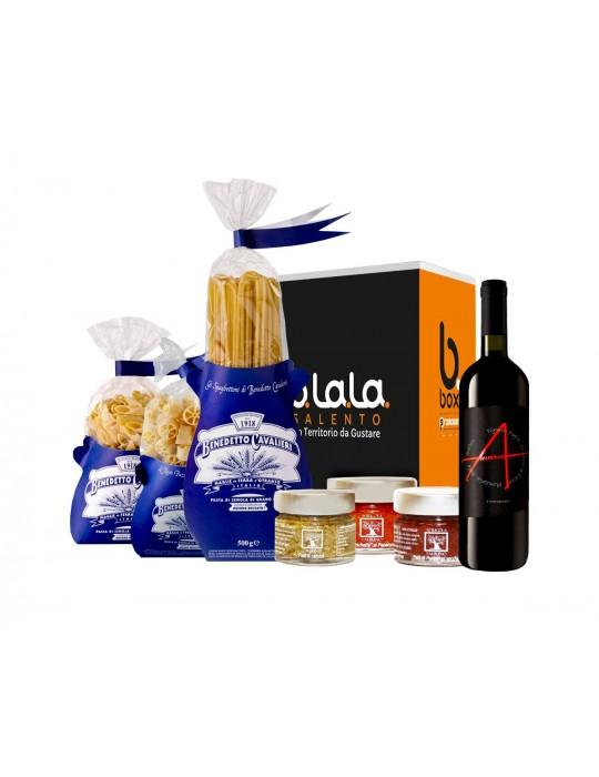 Box Speciale Giugno - confezioni di prodotti tipici del Salento B.La.La. 31,00€