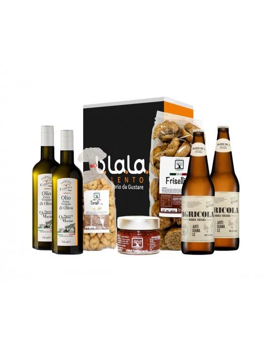 Box Offerte Food&Beer | Pacco di prodotti tipici del Salento B.La.La. 37,50€