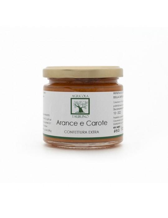 Confettura extra di arance e carote - Agricola Taurino | Prodotto tipico Agricola Taurino 5,50€