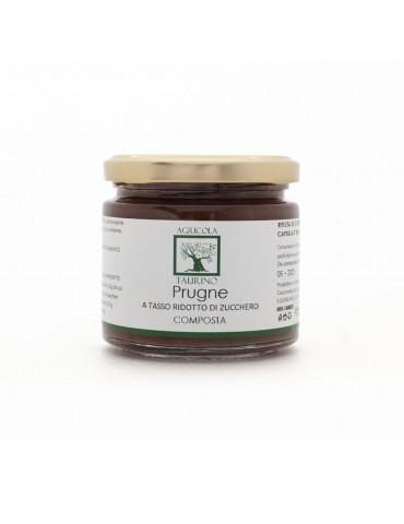 Composta di prugne - Agricola Taurino | Prodotto tipico
