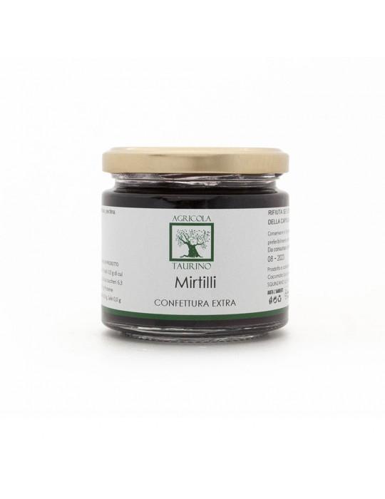 Confettura extra ai mirtilli - Agricola Taurino | Prodotto tipico Agricola Taurino 5,50€