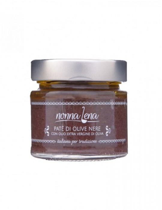 Patè di olive nere - Nonna Lena   Prodotto Salentino Nonna Lena 4,70€